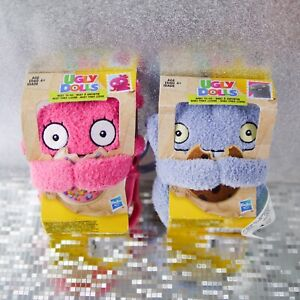 UglyDolls Plush To Go Keychain Moxy Baby Key Chain Clip On Set Backpack Monsters