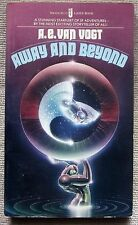 Away And Beyond by A.E. van Vogt PB 1st Jove M4426 - space ship vampires death