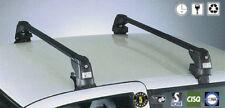 Roof Bars + Kit FAPA Black Lockable For Mitsubishi Pajero Sport 99-06 (NO RAILS)