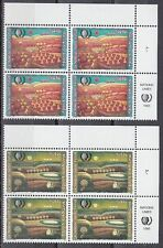 Onu ginebra 1995 ** mi.267/68 pinturas painting kumpf [sr2187]