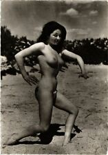CPA femme. NUDE RISQUE real photo (500180)