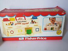 Fisher-Price Toys 1974's Vintage Shape Sorter Colourful Shapes