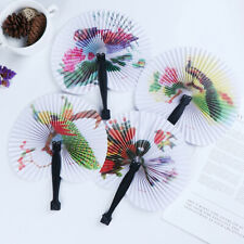 Summer Handheld Fan Chinese Folding Hand Fan Printed Paper Decorative gift Fd