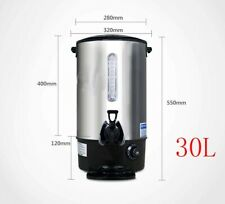 IntBuying Commercial Office Hot Water Dispenser 7.9Gal Stainless 110V Desktop
