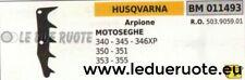 503905901 ARPIONE ROSTRO MOTOSEGA HUSQVARNA 340 345 346XP 350 351 353 355