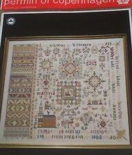 PERMIN SAMPLER 1663 CROSS STITCH CHART