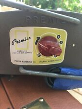 New listing Vintage Premier photo materials Model 110 Print Dryer Working Tested Clean Shiny