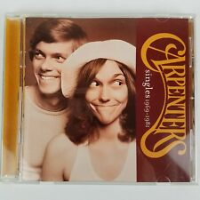 Carpenters Singles 1969-1981 Music CD May 2000 A&M Records USA Compact Disc