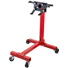 Engine Stand Motor Stand 1000lb Capacity Rotating Automotive Tools in Steel Red