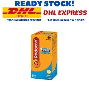 60's x 500MG REDOXON DOUBLE ACTION CHEWABLE For Efective Immune System DHL SHIP