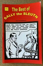THE BEST OF SALLY THE SLEUTH BY ADOLPHE BARREAUX 2008 PULP TALES PRESS