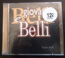 Paolo Belli – Giovani E Belli CD  2011 Still Sealed Nuovo Cinicodisincanto