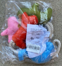 """New listing Pet Dog Chew Toy """"Bite Me� Tough (5 In A Pack) New"""