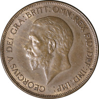 Great Britain Penny 1928, KM #838, AU