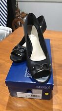Diana Ferrari Block Open Toe Heels for Women