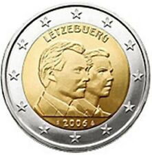 """LUXEMBURG SPECIALE 2 EURO 2006 UNC """"HENRI EN GUILLAUME"""""""