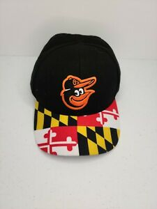 NEW Baltimore Orioles HAT Cap SGA Maryland Flag Bill DAP Snapback Baseball MLB