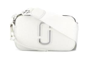 BNWT Marc Jacobs DTM White Snapshot Small Camera Crossbody Bag