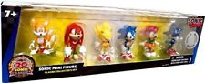New Factory Sealed Sonic Metal Tails Prower Echidna 20th Anniversary 6 Pack TRU