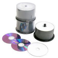 100 x rivière DVD-R 4.7 Go 16x fs.spindle Jet D'encre Blanc