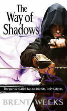 The Way of Shadows: Night Angel Trilogy Book 1, By Brent Weeks,in Used but Accep