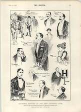 1902 Christmas Banquet New Vagabond Club Conan Doyle Lady Hamilton