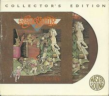 Aerosmith Toys in the Attic GOLD CD Mastersound SBM mit Slipcase OOP Rar