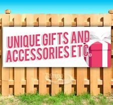 Unique Gifts And Etc Advertising Vinyl Banner Flag Sign Many Sizes Available