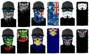Magic Head Face Snood Neck Tube Wraps Sock Scarf Buff Headwear Outdoor Sport