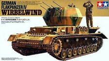 Tamiya 35233 1/35 Model German Anti Aircraft Gun Tank Flakpanzer IV Wirbelwind