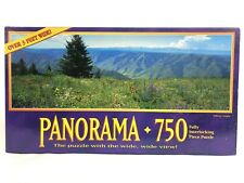 Vintage 1994 Milton Bradley Panorama Jigsaw Puzzle 750 Pc Wallowa Oregon 13x39