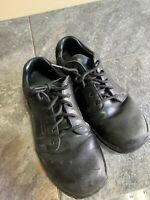 Red Wing Shoes 1623 Women Sz 8 Slip Resistant Work Black Leather Hard Toe  N27