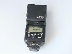 Canon Speedlite 550EX Flash Made in Japan