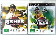 Ashes Cricket 2009 & International Cricket 2010 PS3 Sony PlayStation 3