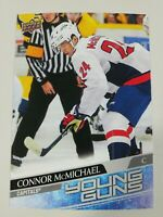 2020-21 Upper Deck Series 1 Connor McMichael Young Guns Oversized Jumbo #234