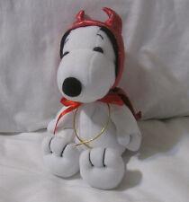 "Snoopy Peanuts Stuffed Plush 7"" Devil outfit premium image (PEANUTS UFS INC)"