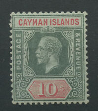 Cayman Islands SG52 1914 10s