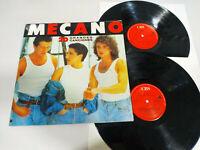 """Mecano 20 Grandes Canciones CBS 1989 - 2 x LP Vinilo 12"""" VG/VG"""