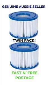 2 PACK Bestway Filter Inflatable Lay-Z-Spa Lay Z Spa Cartridge  58323 Filters VI