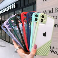Shockproof Clear Case Cover For iPhone 12 Pro Max Mini 11 XS XR X 8 7 Plus SE 2