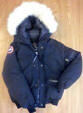 Canada Goose Expedition Parka Black Men's Coat 4565MR Sz M Fur Down Jacket