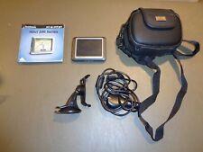 Garmin Nuvi 270 Automotive Mountable Car GPS SD Card With Carrying Case