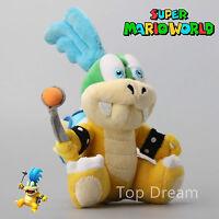 "New Super Mario Bros. U Plush Larry Koopa Koopaling Soft Toy Stuffed Animal 8"""