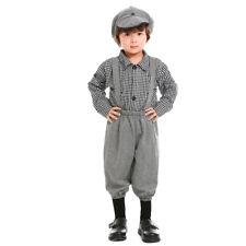 Toddler Old Fashion Newsie Paper Boy Costume Size 4t