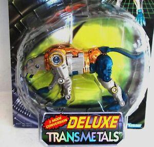 L@@K  ✰ TRANSFORMERS Beast Wars Maximal CHEETOR Deluxe TRANSMETALS 1997 MOC C9.5