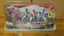 Power Rangers SUPER Mode SAMURAI TEAM Mega Ranger Team 6-Pack RARE SET TRU EXCL