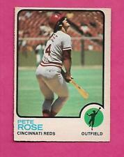 RARE 1973 OPC # 130 REDS PETE ROSE VG CARD (INV# J0318)