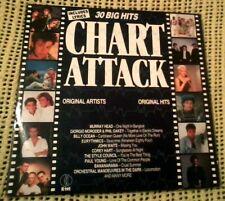 BULK ARTISTS CHART ATTACK 2 X VINYL LP 1984  ORIGINAL AUSTRALIAN PRESS K TEL