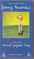 PAL VHS VIDEO TAPE :  LEUNIG ANIMATED  Bryan Brown, Sam Neill