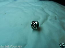 Pandora Silver Wave and Dots Charm GENUINE UK Seller Retired Style 790257